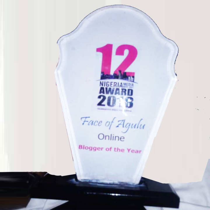 FOA is the Blogger Of The Year 2018